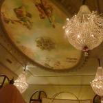 Ceiling in the Bar
