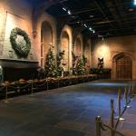 The Great Hall dressed for Christmas