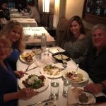 Family dinner at: The River oysters and bar