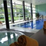 Indoor-Pool und SPA