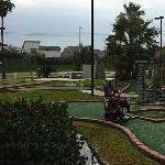 Free on site miniature golf