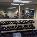 Fitness center at the Grand