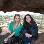 Walk to Hole in Wall at Papago State Park