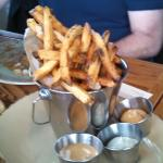Duck fat fries a must have!