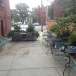 Patio Outdoor Dining Area (open when warm)