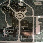 Artistes village and the map