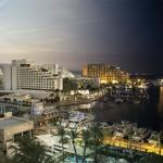 From day to night in Crowne Plaza Eilat