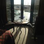 Harbour view from room 214