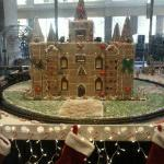 Gingerbread House in Lobby