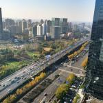 Yanan Elevated Road View from Room