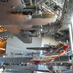 B-17 and a P51 in the Freedom Center