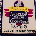 The Anchor Bar - I finally made it here
