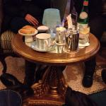 Tea in the bar area, highly recommended
