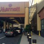 Marriot's main entrance