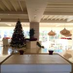 The lobby at Christmas!