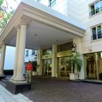 Exterior entrance of hotel