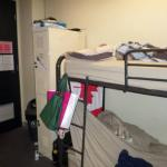 bed dens afe the norm in hostels lol
