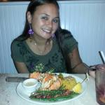 Lobster entree with coconut rice!