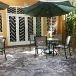 Patio off Lobby