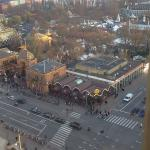 Tivoli Gardens from Hotel Window
