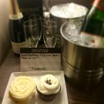 A tasty birthday surprise from hotel