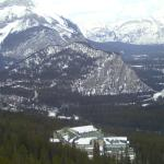 From the Banff Gondola looking onto the Rimrock