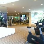 Gym, clean and big