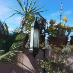 lamp at rooftop
