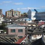 Overview of Buchon Village to see traditional homes