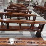 benches with carved names