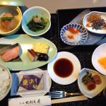 Japanese breakfast - what a great start to the day!