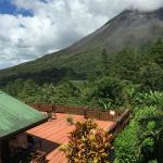 View from Standard Room at Arenal Observatory Lodge