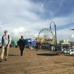 Santa Monica pier - a 15-minute walk from hotel