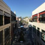 View of Third Street Promenade from Santa Monica Place - an outdoor mall
