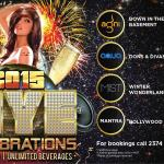 31st December- NYE Celebrations at The Park New Delhi