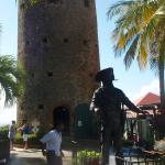 Tower and Statue of Blackbeard
