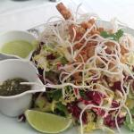 Wolfgang Puck's famous chicken salad.