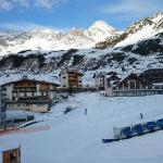 The view over the slopes