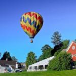 Balloon over the Inn