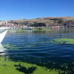 Puno from the lake