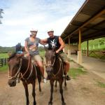 Do the hipline and horseback tour