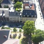 That is me street side from the top of the tower.