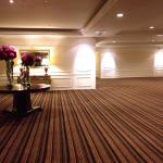 Huge & lovely space on each floor before entering hallway to rooms
