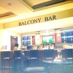 Balcony bar