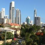 View to Surfers Paradise