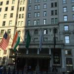 The Plaza Hotel front entrance