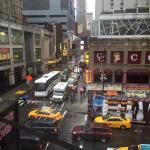 view from Eighth Avenue window