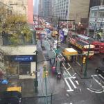 View from 47th Street window