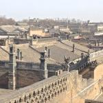 The view from atop the city wall, Pingyao
