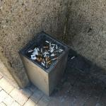 The Employee Cigarette Dumpster